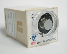 Multi Function Timer 10a 24 240vacdc 10 H 8 Pin Plug In Reverse On Delay Repeat