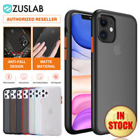 iPhone 11 Pro XS Max XR XS X Case ZUSLAB Shockproof Slim Matte Cover For Apple