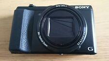 SONY Cyber-Shot DSC-HX50 20.4MP Digital Camera Black + Official Leather Case