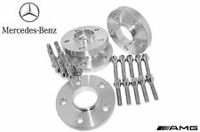 4 Pc Set Of 17mm Thick Mercedes Benz Hub Centric Wheel Spacers W/ 20  Lug Bolts