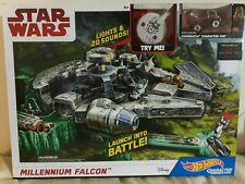 Hot Wheels Character Cars - Star Wars Millennium Falcon Set
