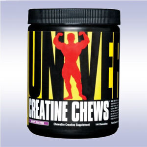 UNIVERSAL NUTRITION CREATINE CHEWS (144 CHEWABLES) creatpure animal un