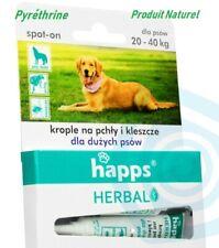 Pipettes antiparasitaires, puces / tiques, grand chien 20-40kg , 4ml , 1pc/4sem.
