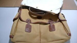 BARBOUR-    B730 CHEVIOT COTTON CANVAS  BAG -WITH LINER- MADE IN ENGLAND