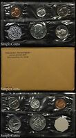 1964 Proof Set With COA ~ Flat Pack Original Envelope ~ US Mint Silver Coins MQ