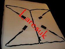 Secret under bed restraint set  (RE-01-BLA), FREE UK DELIVERY