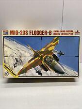 Scale Craft ESCI Mig-23S Flogger-B Swing-Wing Russian Mach-2 Interceptor  1/48