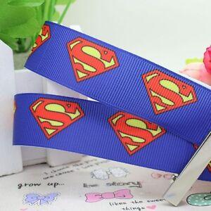 "Superman Ribbon 7/8"" Wide NEW UK SELLER FREE P&P"