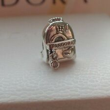 Authentic Pandora Sterling Silver Charm Adventure Bag  797859cz Backpack