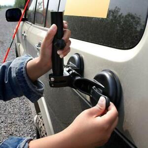 Universal SUV ATV Off-Road Flagpole Bracket Adjustable Suction Cup Heavy-Duty