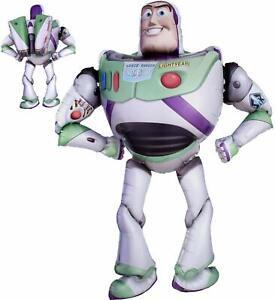 "Toy Story Buzz Light Year 3D Airwalker 54"" Jumbo Foil Balloon Party Supplies"