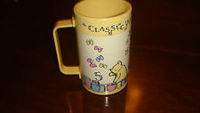 Winnie The Pooh Plastic Drink Cup With Pictures Butterflies and Numbers-Turns!