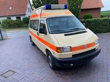 VW Bus T4 Wohnmobil Krankenwagen Umbau Automatik Diesel Womo Hochdach TÜV neu