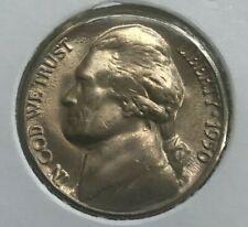 1950 D Jefferson Nickel Uncirculated - Popular Date