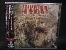 ARMAGEDDON Capacity & Devourment + 1 Japan CD Arch Enemy Pokolgep Swedish Death