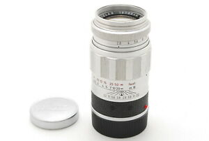 【N MINT】Leica Elmarit 90mm f/2.8 Chrome Telephoto Leica M From JAPAN