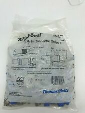 Thomas-Betts SNS6 RG6 Coax Cable Compression F Connectors  50 Pack Snap-N-Seal