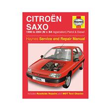 Citroen Saxo 1.0 1.1 1.4 1.6 Petrol 1.5 Diesel 96-04 (N to 54 Reg) Haynes Manual