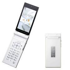 DOCOMO FUJITSU F-02D 16MP HD 3D WHITE MOBILE CELLPHONE FLIP PHONE UNLOCKED JAPAN