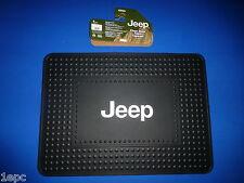Jeep Logo Rubber Cargo Floor Trunk Area  Mat Truck SUV Liberty Cherokee Wrangler