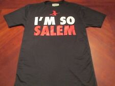 NEW I'M SO SALEM BLACK TECH FIT T-SHIRT SIZE S MA. HALLOWEEN WITCH CITY