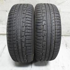 215/60R16 Nokian Tyres WRG3 99V Tire (8-9/32nd) SET OF 2 NO REPAIRS