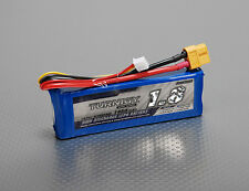 New Turnigy 1800mAh 2S 7.4v 1P 20C 30C Lipo Battery Pack XT60 XT-60 US