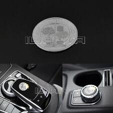 Car 3D AMG Emblem Key Multimedia Decor Sticker For Benz A B E CLA GLA GLE Class