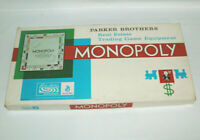 1961 Parker Brothers Monopoly Real Estate Trading Game READ DESCRIPTION