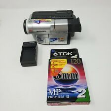 New ListingSamsung Scl810 Hi-8 Digital Camcorder With Charger Tested