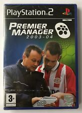 PS2 Premier Manager 2003-04, UK Pal, Brand New & Factory Sealed
