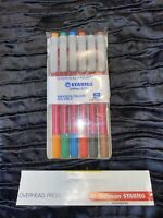 Vintage Stabilo OHPen 19706 - Overhead Projector Markers - Set - Superfine S