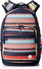 NWT Girl Roxy Grand Thoughts Padded Laptop Tablet Backpack School Book Bag New