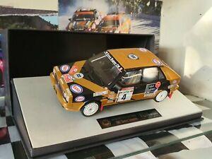 1:18 Lancia Delta Integrale Rally ESSO San Remo 1987 By Top Marques 100pcs