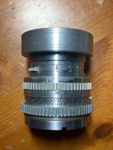 1949 Kodak Ektar Camera Lens 50mm f/1.9 - Made In USA  - Same as Cine Ektar