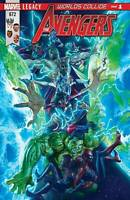 AVENGERS #672 ALEX ROSS LEGACY Marvel Comics NM  HULK / Spider-man