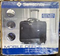 Samsonite Noble Office- Computer Case on Wheels