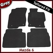 Mazda 6 Mk2 2007-2012 Fully Tailored Fitted Carpet Car Floor Mats GREY