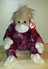 1999 Ty Beanie Buddies SCHWEETHEART Orangutan with Heart tag.