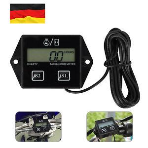 Motorrad Drehzahlmesser digital Tachometer für Kettensäge und andere Takter
