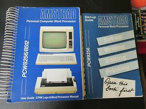 Vintage Amstrad Personal Computer Word Processor User Guide PCW8256/8512