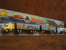 Iblacker Bier US Road Train HZ in 1:87vergoldet ZM 16 Achsen 2 Hänger 56 cm lang