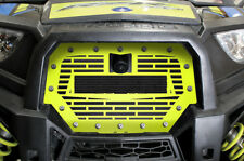Steel Grille w/ Space fits Polaris RZR 1000 XP 17+ ATV Ride Command LIME SQUEEZE