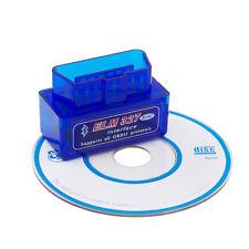 MINI ELM 327 OBD2 DIAGNOSI AUTO INTERFACCIA BLUETOOTH V2.1 ANDROID OBDII SCANNER