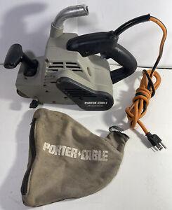 """Porter Cable Model 362 4"""" X 24"""" Belt Sander - Working"""