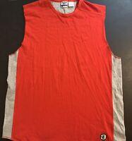 VTG Allen Iverson Reebok Jersey Tank Top - Men's Size XL NBA Basketball