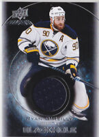 16-17 UD Black Ryan O'Reilly Jersey BLACK HOLE Sabres 2016