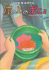 Ponyo on the cliff V2 RARE Japan Movie Poster Chirashi