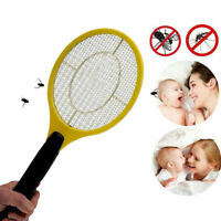 Power Summer Insects Fly Swatter Bug Zapper Racket Electronic Mosquito Killer