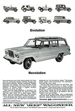 1964 Jeep Wagoneer - Promotional Advertising Poster